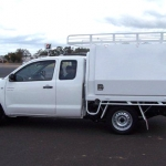 Toyota Hilux Steel Ute Tray