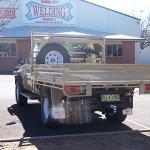Toyota Landcruiser Steel Ute Tray