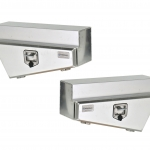 Underbody Tapered - Pair Aluminium Smooth